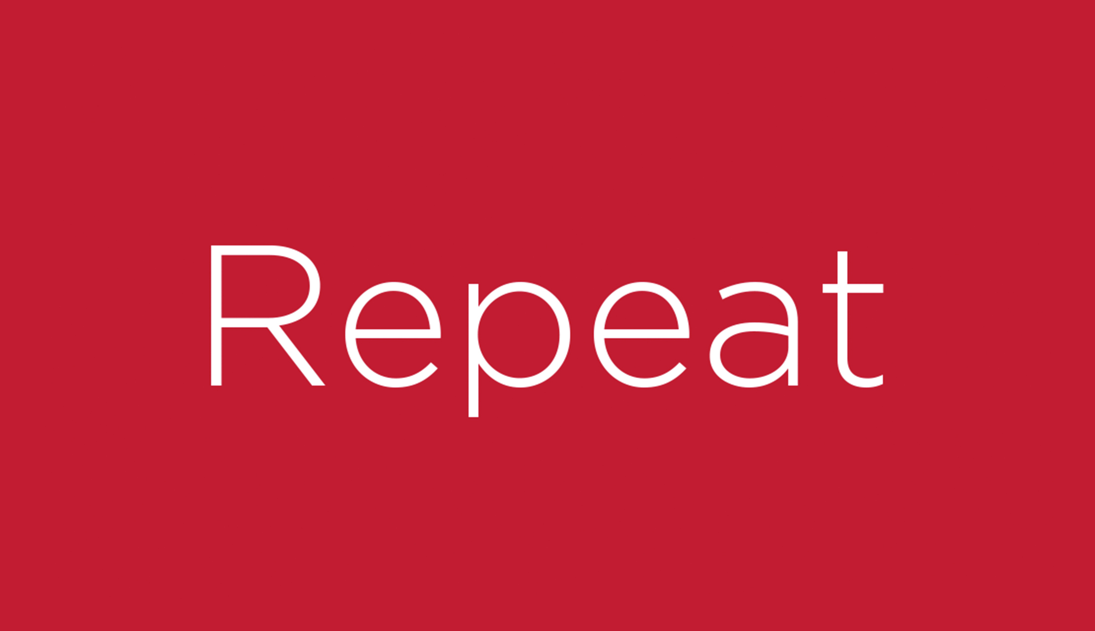 Repeat: A Memory Game